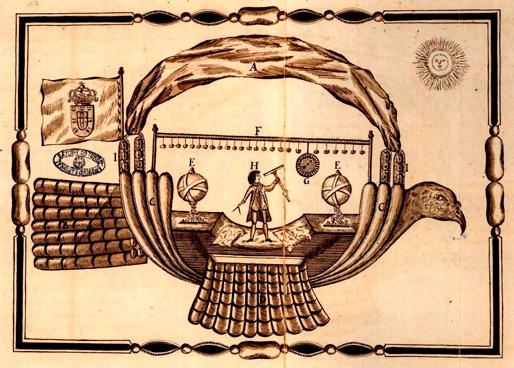 Passarola, Bartolomeu Lourenço de Gusmão's airship | 1709