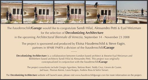 Eloisa Haudenschild & Steve Fagin, partners in SPARE PARTS | Venice Biennial | Decolonizing Architecture