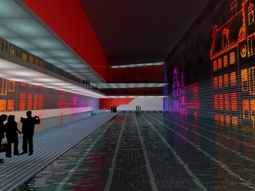 Alternative Multifunctional Underground Space Amsterdam | Zwarts & Jansma | 2008