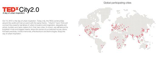 TEDxTheBund TEDxCity2.0 | Shanghai, October 13, 2012