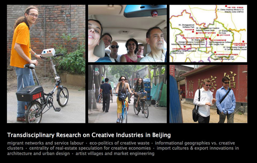 Transdisciplinary Research on Creative Industries in Beijing | China [2007]