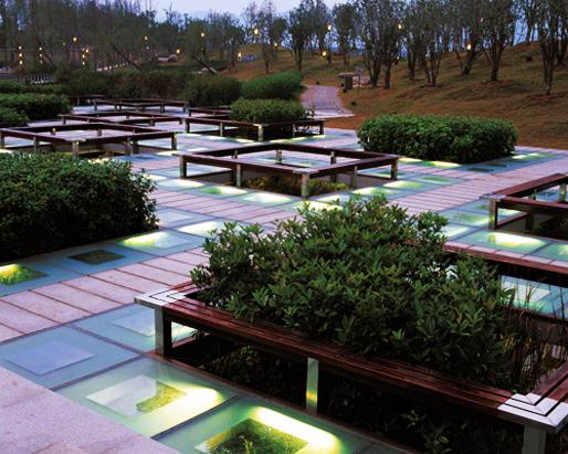The Floating Gardens - Yongning River Park   TURENSCAPE (Image courtesy of Prof. Kongjian Yu)