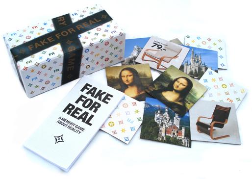 Fake for Real Memory Game | design by Hendrik-Jan Grievink