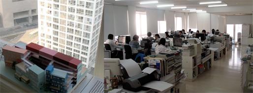 SAKO Architects office   Jianwai SOHO, Beijing