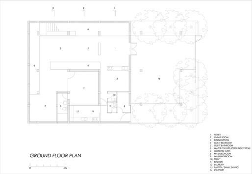 Puri Indah by mamostudio | plan