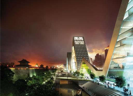 Xian Citywall | TRANSFORM and XAUAT