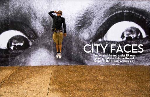 JR | City Faces | MARK Magazine#30