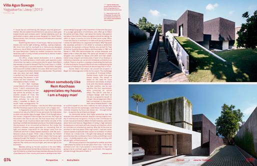 Mark Magazine#44 | Andra Matin | MovingCitie
