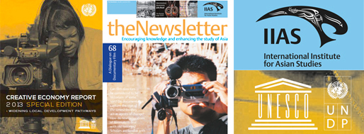 UNESCO report (2013) & IIAS-newsletter (2014)