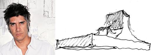 Alejandro Aravena | 2016 Pritzker Prize & Ordos100 sketch