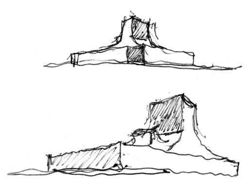 Alejandro Aravena | Ordos100 sketch
