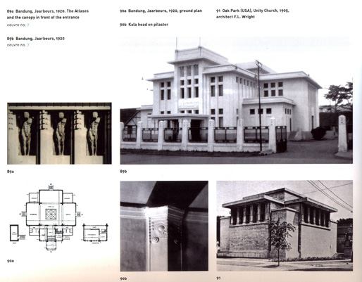 Jaarbeurs by Wolff Schoemaker [plus reference to FL Wright]   Bandung, 1920
