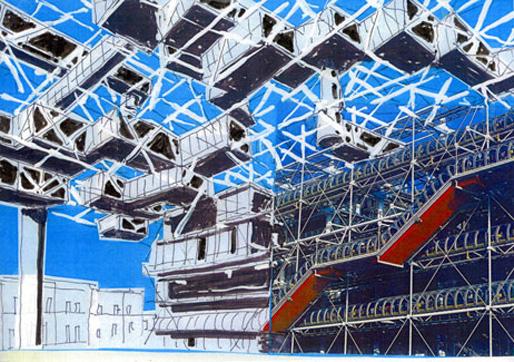 Centre Pompidou by Yona Friedman