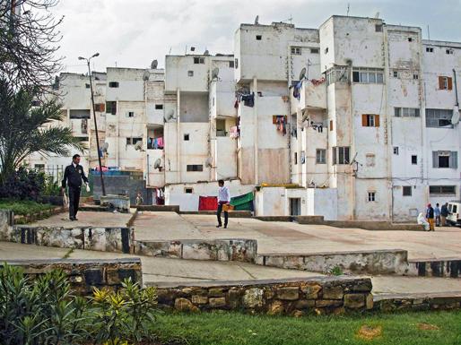 Housing project in Casablanca | Sidi Othman settlement, 2008 photo: Marion von Osten
