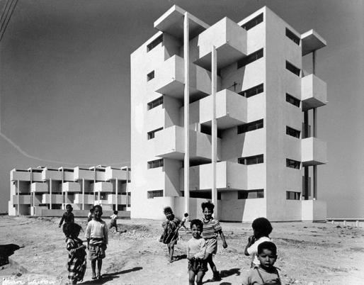 Housing project in Casablanca | Sidi Othman settlement, 1955