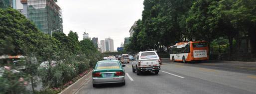 Guangzhou highways   November 9, 2009