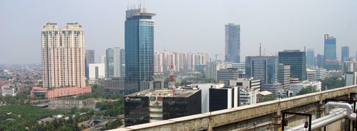 View from the Four Seasons | Jakarta, October 4, 2008