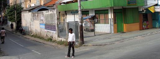 Walking around the Sudirman Business District   October 4, 2008