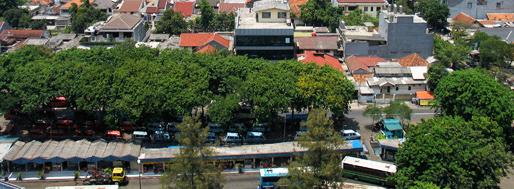 View from Trisakti University | October 14
