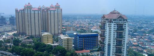 View from Tarumanagara Univeristy | October 15