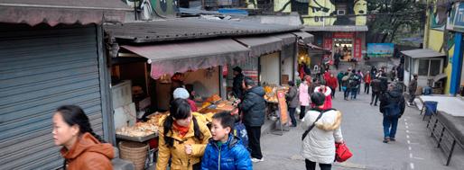 Chongqing Jiulongpo District Huangjueping 重庆市九龙坡区黄桷坪| Jan18, 2013