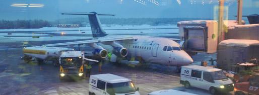 Helsinki Airport   February 15, 2010