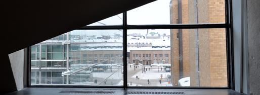 View over from Kiasma contemporary art museum | Helsinki, Feb12 2010
