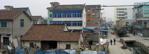 Architecture built by farmers | Hangzhou, February 11, 2008