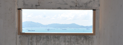View from The Belcher's | Hong Kong, July 6, 2009
