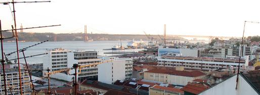 Lisbon & Miradouro de Santa Catarina | April 30, 2009
