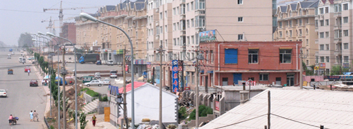 View from railroad | Beijing-Harbin, 2006