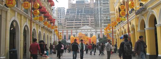 Senado Square, Macau | January 20