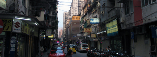 North surrondings of St. Michael Cemetery, Macau | January 21