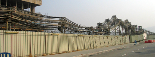 City of Dreams under construction, Cotai   Macau, January 22