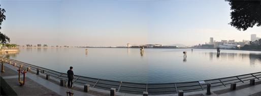Macau Outer Harbour reservoir (reservatório do Porto Exterior)   November 5, 2009