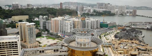 Urban Panorama Workshop | View from 'The View' at Sands, NAPE