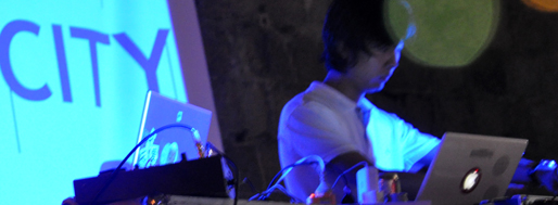 THIS IS MY CITY 09!!! sound check at Albergue SCM | Dead J & Chen XiongWei (86/33 LINK)