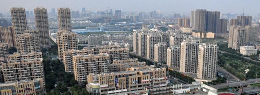 Ningbo   Yinzhou New Town Skyline   MovingCities, October 2010