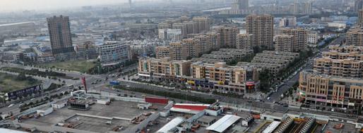 'Yinzhou New Town' - Ningbo's Yinzhou District | October 10, 2010