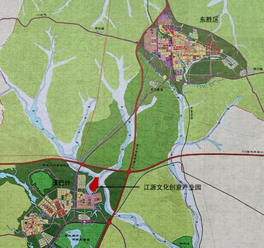 Ordos JiangYuan map | source: http://yipka.com
