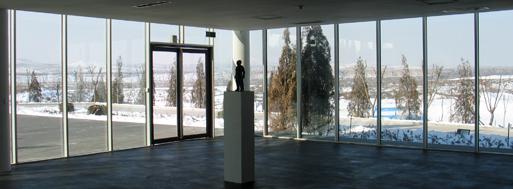 Ordos Art Museum by Xu Tiantian, DnA | Ordos, 2008