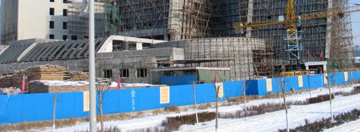 Under construction | Ordos, 2008
