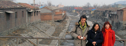 Crimson Architectural Historians in Mentougou | Beijing