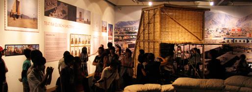 Crossing exhibition | Leondelima