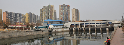 Case study site: Baja urban village, Beijing | March 2012