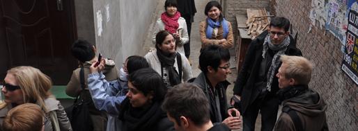 Baja urban village [NE Tsinghua University, Beijing] | School+ WORKSHOP visit