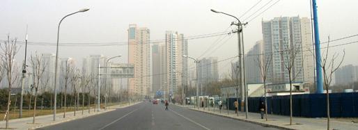 Area around Wangjingxi subway station | Beijing, December 9