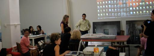 Stephanie Herring & Brennen Huller (group1) presented their proposal | Line 13 Redux workshop