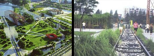 reference: TURENSCAPE | Zhongshan Shipyard Park, Guangdong (China)