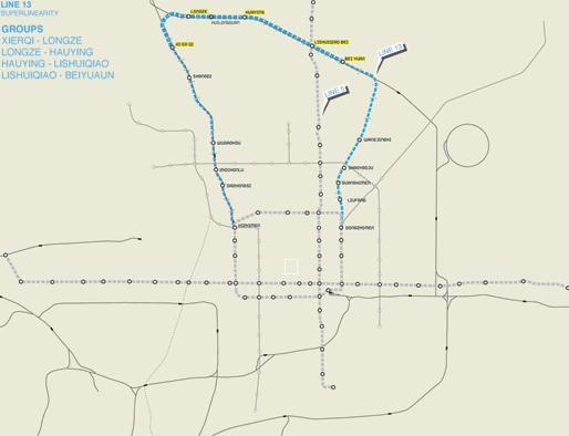Line13 | Beijing Subway & Railroad Infrastructure